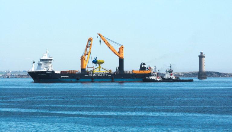 L'hydrolien : une solution jugée pertinente pour les îles et les sites isolés par Sabella
