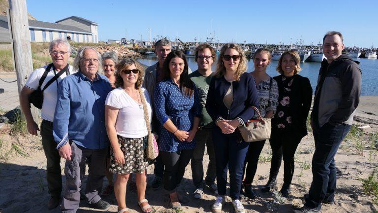 Une délégation des îles du Ponant en visite aux îles de la Madeleine