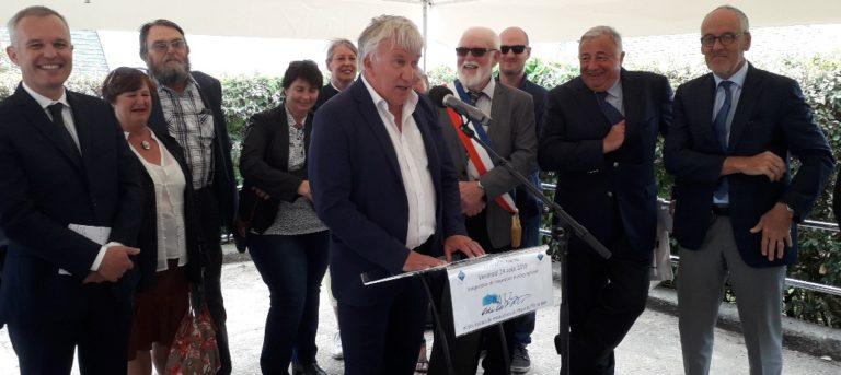 Inauguration de l'exposition muséographique et de la restauration du Phare de l'Île de Batz
