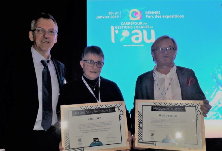 L'île d'Arz et Bréhat lauréats du prix «Zérophyto»