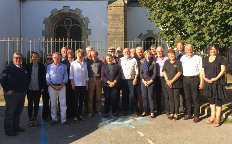 Les Maires des Iles du Ponant à Saint Brieuc