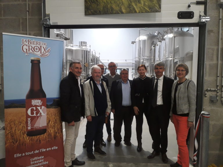 Nouveau : la bière de Groix