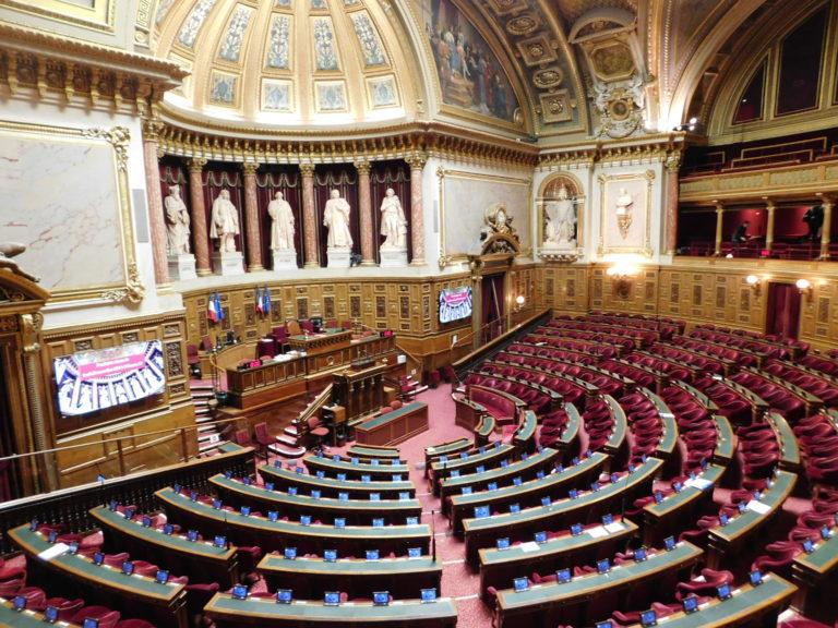 Les Maires des Îles du Ponant au Sénat le 28 novembre