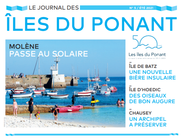 Le Journal des Îles 2021 édition spéciale 50 ans de l'association est arrivé !