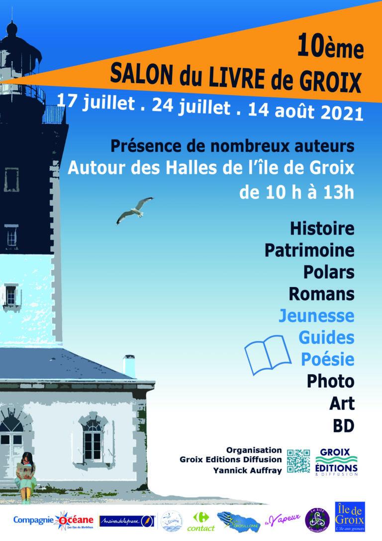 10ème Salon du livre de l'île de Groix en vue